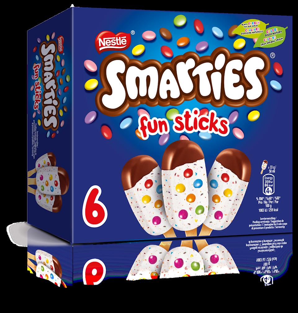 Smartie Eis